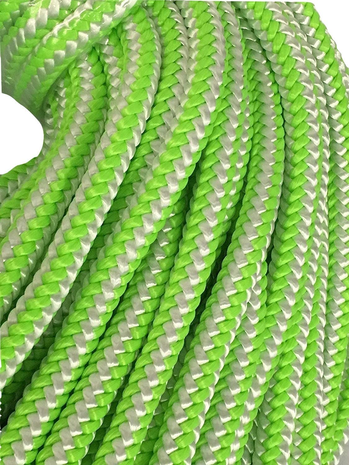 12 Strand Polyester Rope Recommendation 7 16 feet and White 150 Green Superior
