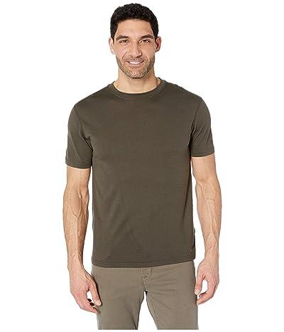 Filson 210G Merino Short Sleeve Crew (Dark Olive) Men