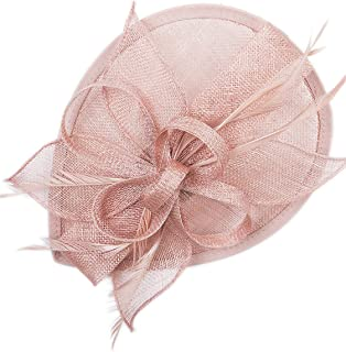 Best pale blue and black fascinator Reviews