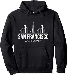 San Francisco Hoodie   SF Bay Area California Skyline Hoodie