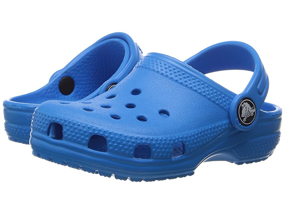 Crocs Kids Classic Clog (Toddler/Little Kid) (Ocean) Kids Shoes