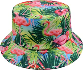 pink flamingo bucket hat