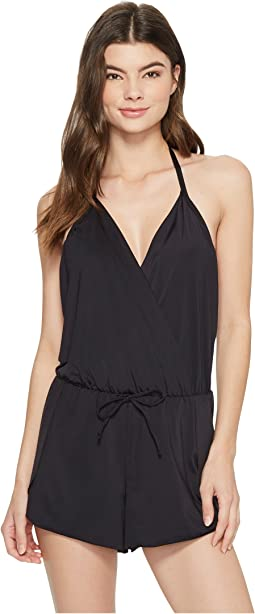 Kenneth Cole Ready To Ruffle Romper Cover-Up