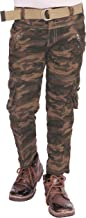 ADBUCKS Boy's Army Print Relaxed Fit Cotton Cargo Pants (Multi Color & Size)