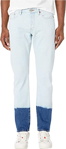 Tapered Fit Jeans Bleach