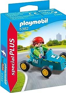 Playmobil Especiales Plus- Boy with Go-Kart Figura con Accesorios, (5382)