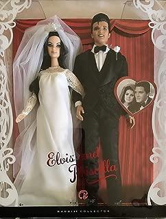 Barbie Collector ELVIS and PRISCILLA Dolls WEDDING DAY Collector SET (2008)