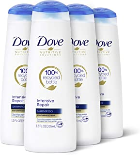 Champú Dove Nutritive Solutions, Intensive Repair 12 oz (Paquete de 4)