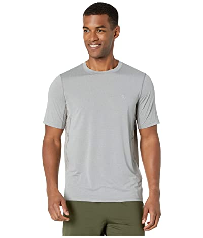 Fjallraven Abisko Mesh Short Sleeve (Shark Grey) Men