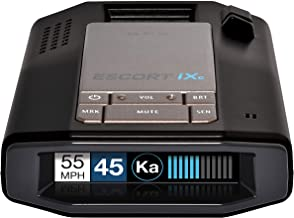 $341 » Escort IXC Laser Radar Detector - Extended Range, WiFi Connected Car Compatible, Auto Learn Protection, Voice Alerts, Mult...
