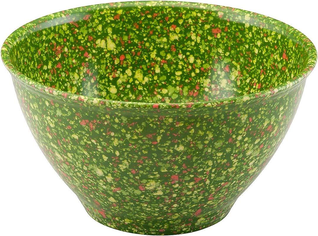 Rachael Ray 4 Qt Green Melamine Garbage Bowl
