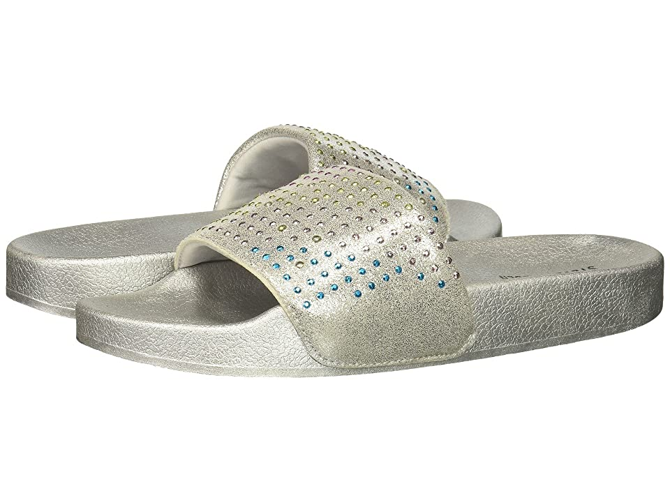 Steve Madden Kids Jbrites (Little Kid/Big Kid) (Silver Multi) Girls Shoes