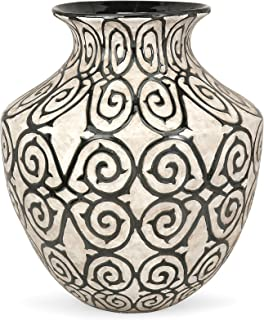 IMAX 89680 Benigna Oversized Floor Vase Wide