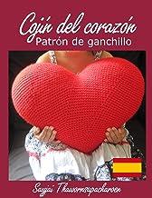 Cojín del corazón: Patrón de Ganchillo (Spanish Edition)