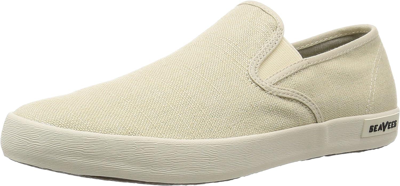 Seavees Men's Baja Slip on Standard Casual Sneaker Fashion