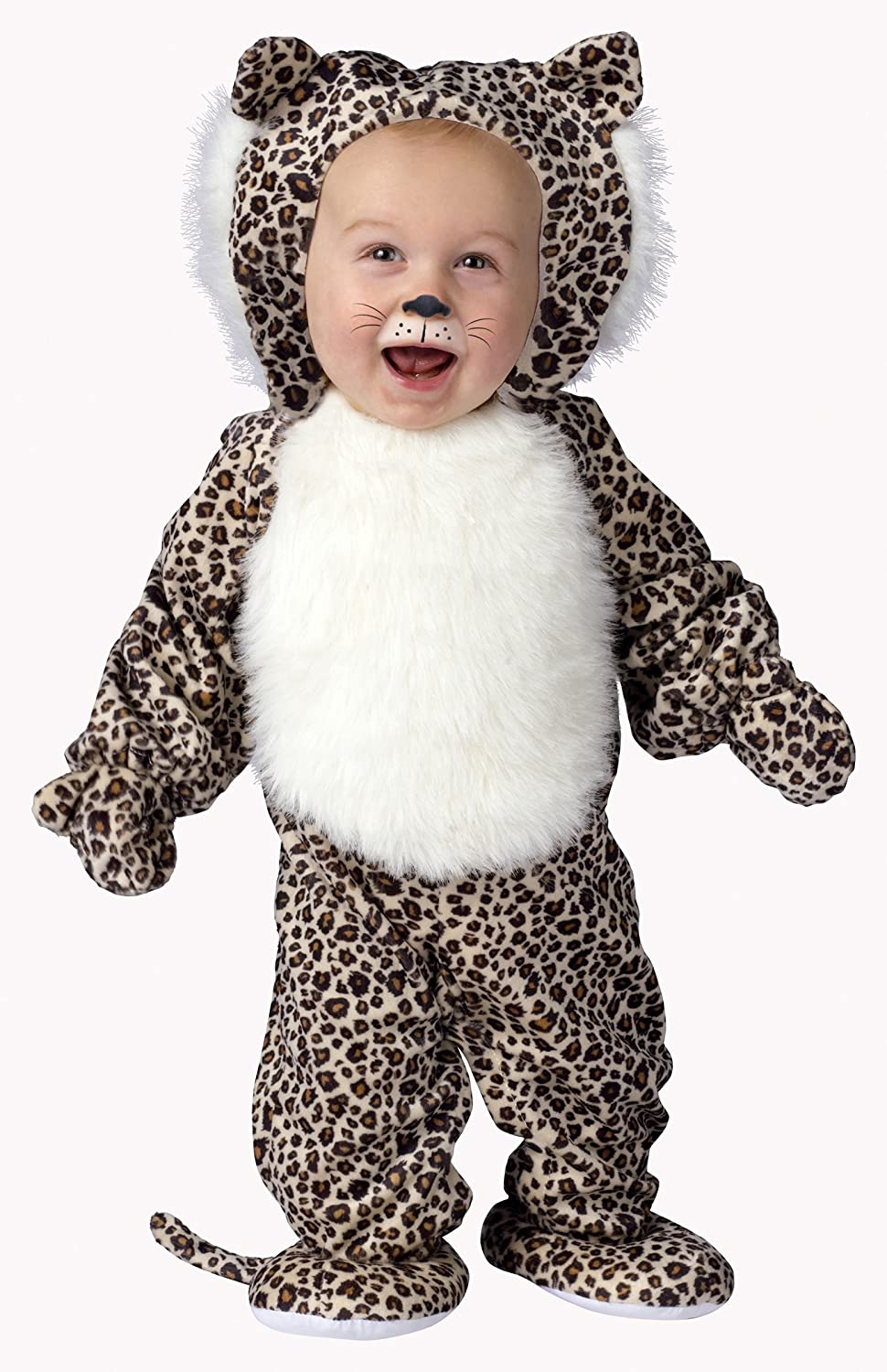 Fun World Costumes Baby's Li'L Leopard Infant Costume, braun schwarz Weiß, Small