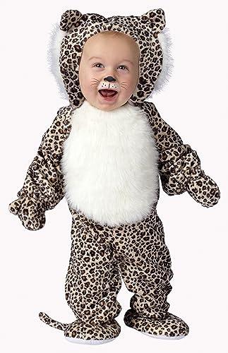 Fun World Costumes Baby's Li'L Leopard Infant Costume, braun schwarz Weiß, Small