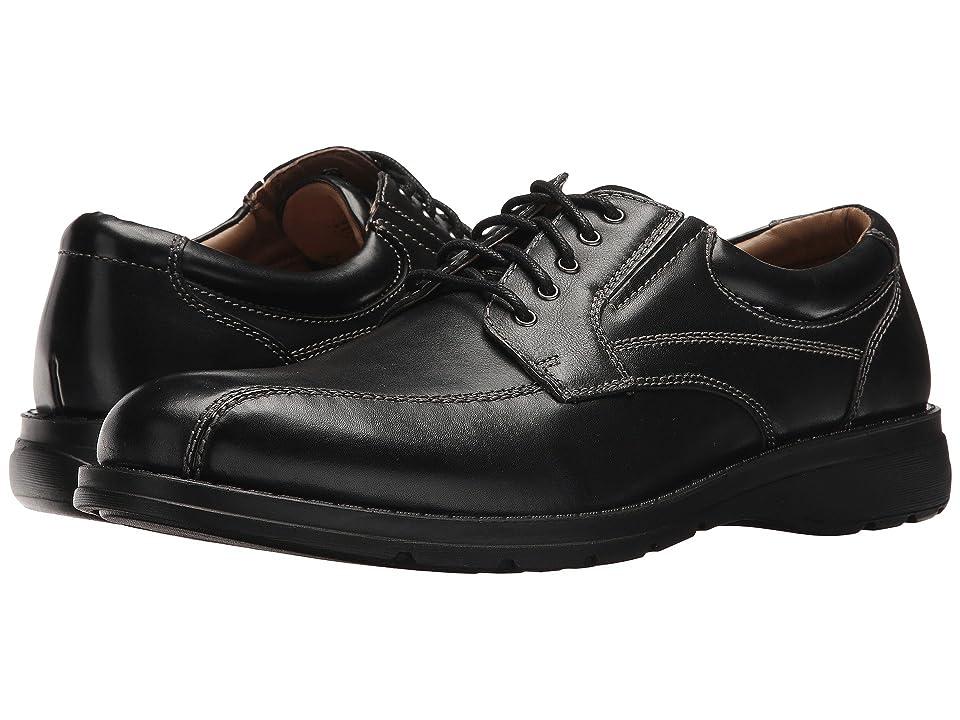 Dockers Trustee 2.0 Moc Toe Oxford (Black Polished Full Grain) Men