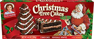 Little Debbie Christmas Tree Cakes (Chocolate), 2 boxes