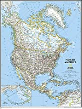 National Geographic: North America Classic Wall Map (23.5 x 30.25 inches) (National..