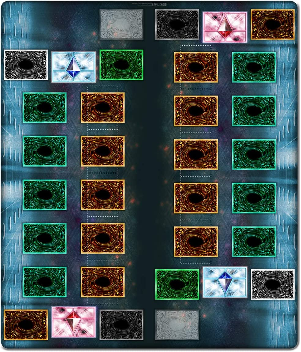 "Inked Under blast sales Playmats Pendulum Summon 2 Player TCG 28x24"" Mat Game High quality"