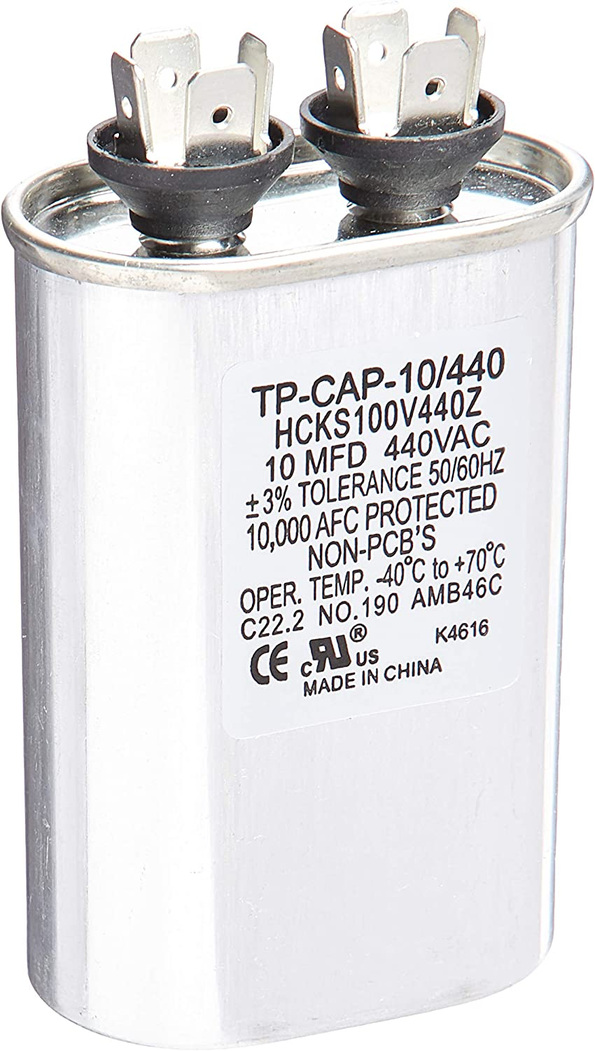 Carrier Max 85% OFF TP-CAP-10 Limited price 440 Capacitor Run