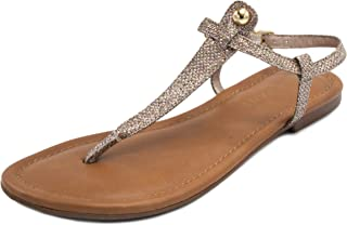d8f9c7d9b Rampage Women s Pashmina Basic Casual Comfortable T-bar Flat Sandal