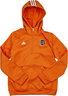 adidas Detroit Tigers MLB Youth Sideline Player Pullover Hoodie