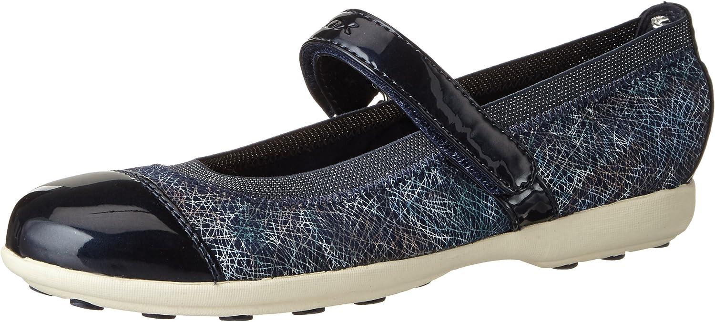 Geox Girls J Jodie Fashion Flats Shoes,Blue,29