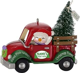 Hallmark Keepsake Ornament 2019 Year Dated Holiday Parade Snowman Driving Christmas Tree Truck