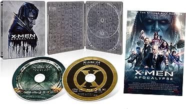 【Amazon.co.jp限定】X-MEN:アポカリプス 3D & 2D ブルーレイセット スチールブック仕様 [Blu-ray]