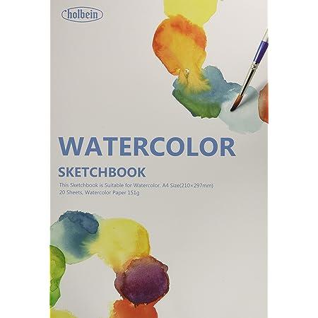 ホルベイン 水彩画用スケッチブック YWC-A4 271201