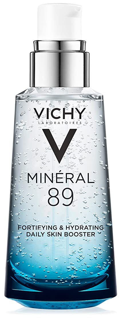 浸透する集団的すり減るVichy Mineral 89 Fortifying, Hydrating & Plumping Daily Skin Booster, Face Moisturizer with Hyaluronic Acid, 1.67 Fl. Oz.