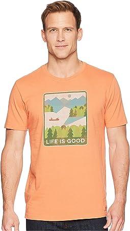 Life is Good Minimalist Lake Crusher Tee