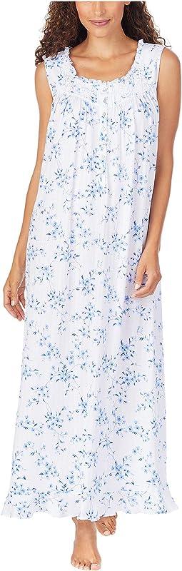 Cotton Sleeveless Ballet Nightgown