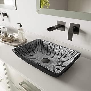 glass molded bathroom sinks