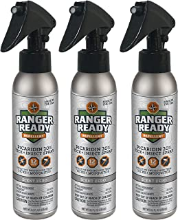 Picaridin 20% Tick + Insect Repellent Expedition Pack Trigger | Scent Zero | 3X235ml/8.0oz