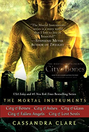 Cassandra Clare: The Mortal Instruments Series (5 books): City of Bones; City of Ashes; City of Glass; City of Fallen Angels, City of Lost Souls (English Edition)