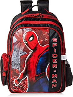 Marvel Spider Man Movie School Backpack for Boys - Multi Color