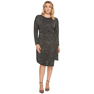 NIC+ZOE Plus Size Every Occasion Stud Dress (Grey Mix) Women