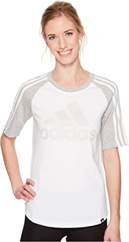 adidas - Badge of Sport Baseball Tee