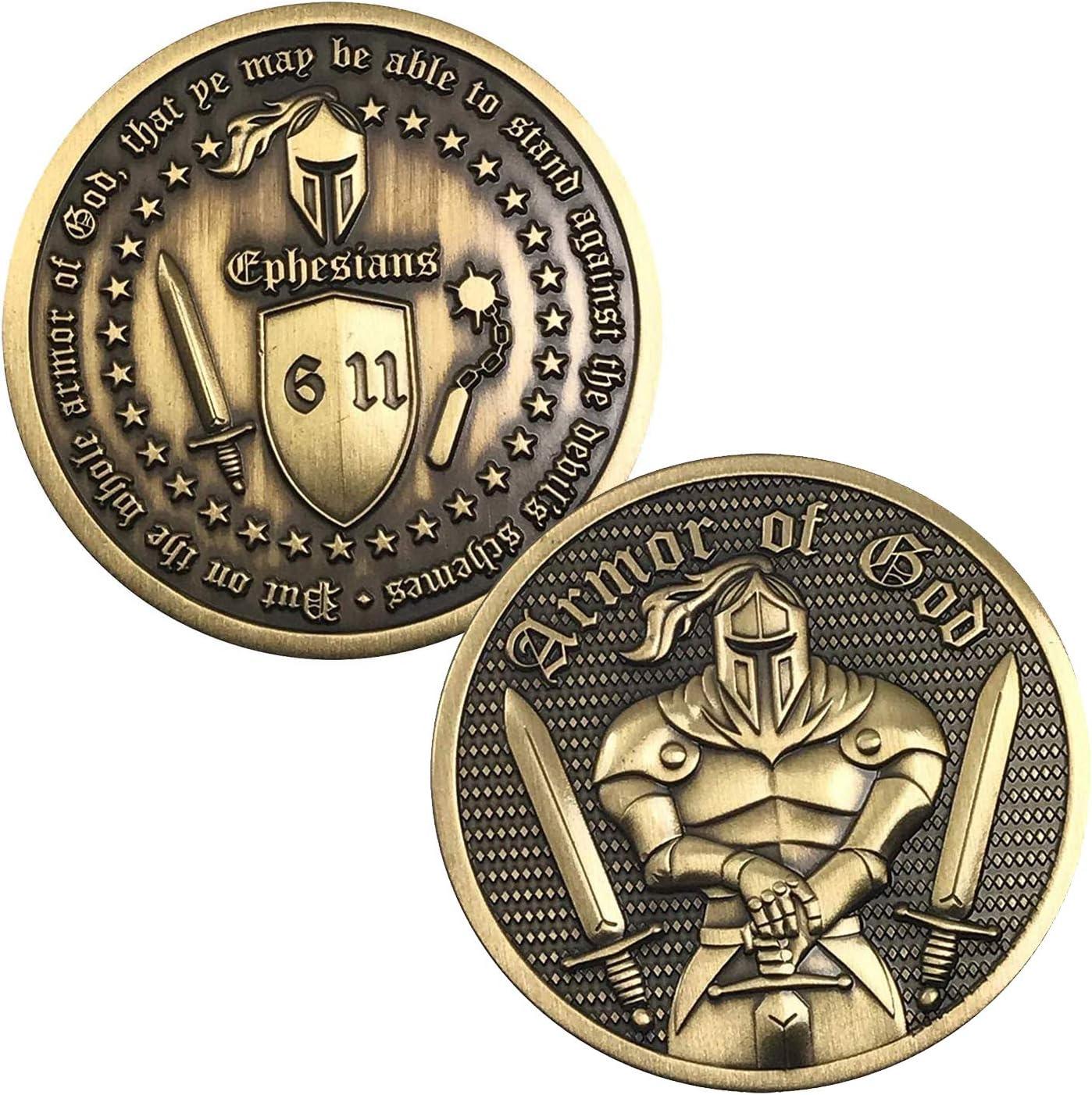 Premium Armor of Max 65% OFF Atlanta Mall God - Commemorative 6:11-3D Ephesians Challenge