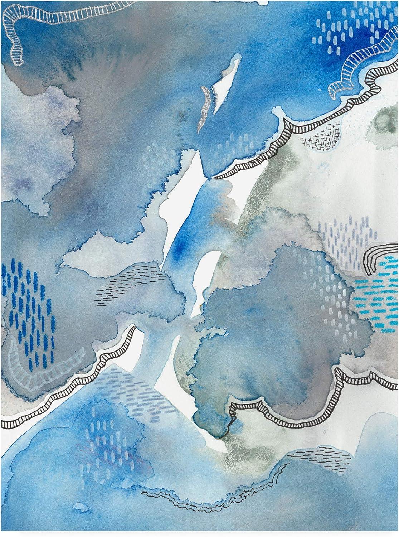 Trademark Fine Art Subtle bluees I by Regina Moore, 14x19
