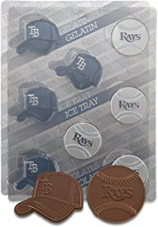 MLB Tampa Bay Rays Candy Mold (Pack of 2)