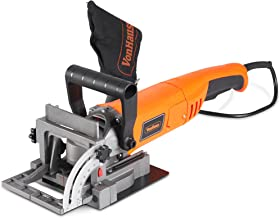 "VonHaus 8.5 Amp Wood Biscuit Plate Joiner with 4"" Tungsten Carbide Tipped Blade,.."