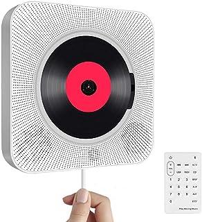 Draagbare cd-speler met bluetooth, aan de muur te monteren ingebouwde hifi-luidsprekers, thuis-audioluidspreker met afstan...