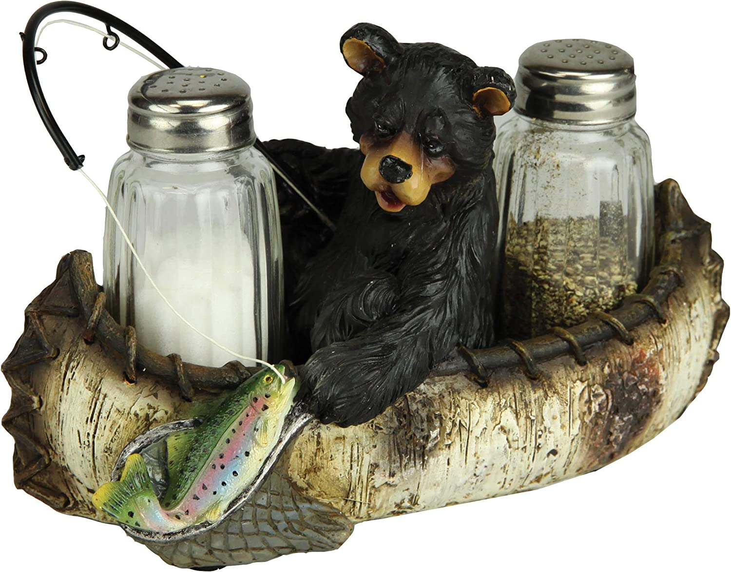 River's Edge Products Salt and Pepper Ranking TOP10 Shakers Pol Fishing Bear Spasm price
