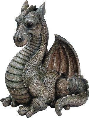 Vivid Arts Décoration en résine en forme de dragon ailé