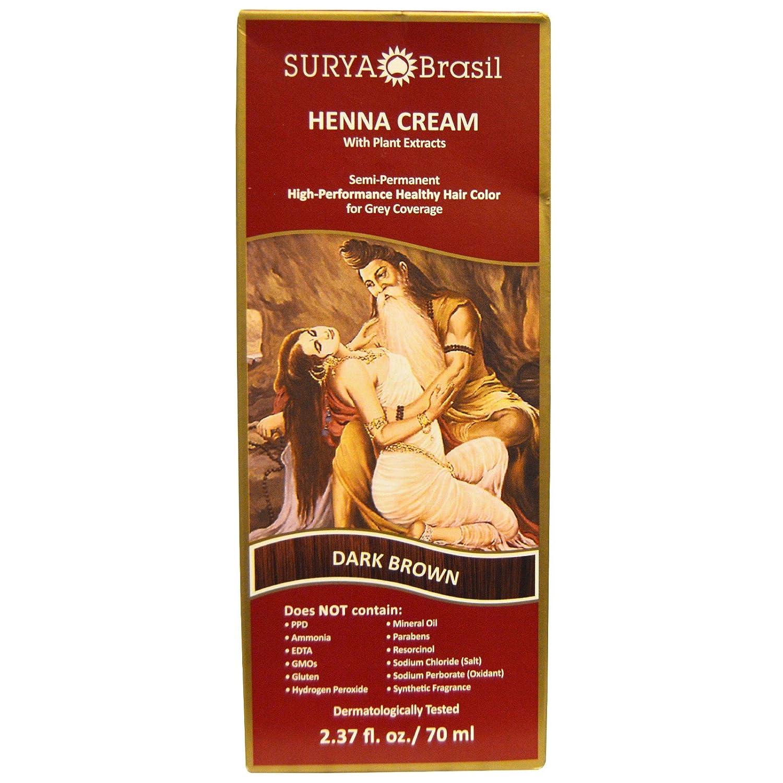 Surya Henna Cream High-Performance Healthy fo Hair 商舗 Color 返品不可