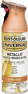 copper rose spray paint